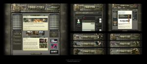 Clan Forum and Joomla Skin by karsten