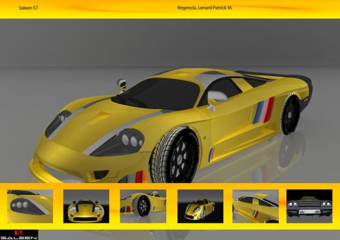 Saleen S7 by lenardregencia