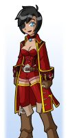 Pirate Captin Crimson Color by rongs1234