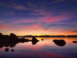 Lake Tahoe sunset 131201-87 by MartinGollery