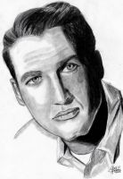 Paul Newman by IreneGnr22