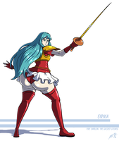 Commission - Eirika by Axel-Rosered