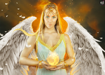 Archangels: URIEL Fire of God by mAgrAw812