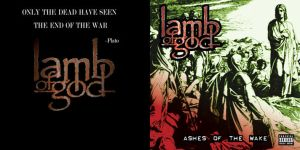 CD project - Lamb of God by DAVEAC1117