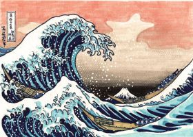 The Great Wave Off Kanagawa by crislink