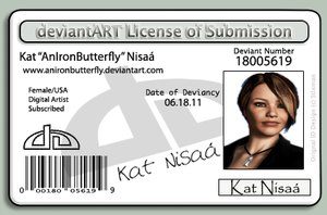 New Deviant ID by anironbutterfly