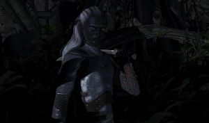 Drizzt :: Deep Forest by DrowElfMorwen