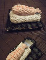 Sushi phone pouch by jadeg3