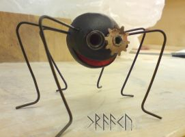 Ceramic Spider by Kraaku
