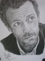 Hugh Laurie - HOUSE m.d. by SusHi182