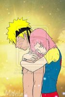 NaruSaku and Amazing Skyline by mideila