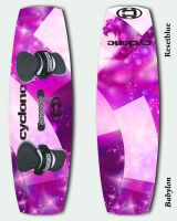 Cyclone Kiteboard 1-Babylon by Resetblue