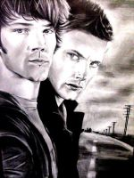 The Winchester Brothers by izziwizVIII