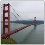Looking Across the Golden Gate by dirtycar74
