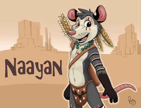 BLFC badge: Naayan by pandapaco