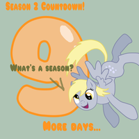 MLP Season 2 Countdown 9 DAYS by TuliothePillbug