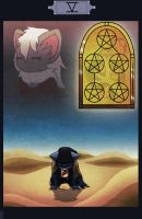 PKMNC - Five of Pentacles by Lazy-a-Ile