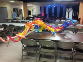 Balloon Chinese Dragon by DJdrummer
