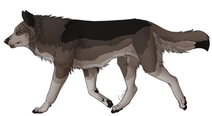 Wolf Auction (sold) by Dusk-Adopts