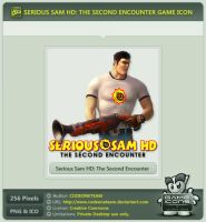 Serious Sam HD: The Second Encounter Icon by CODEONETEAM