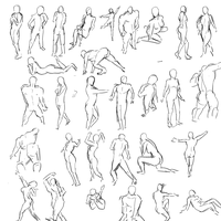 Human Poses by jimmyjxia