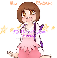 == Mako Mankanshoku == by miulk