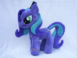 Dark Songs OC Plushie by Pinkamoone