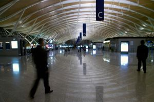 Terminal 2, Pudong Airport by vanfoto