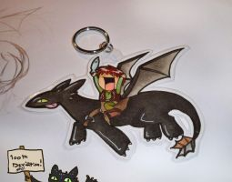 HTTYD Keychain by McMitters