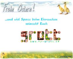 Frohe Ostern 2002 Happy Easter by KiwisaftDEsign