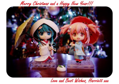 My Figure Christmas Card 2013 by MangaGirl232