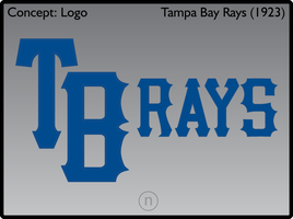 Tampa Bay Rays 1923 Logos by JimmyNutini