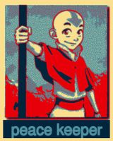 aang the peace keeper by luaradawn