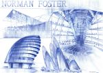 Norman Foster Architecture by agaznamierowska
