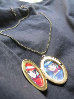 Ace Attorney themed 'Father's Locket' by SnowBunnyStudios