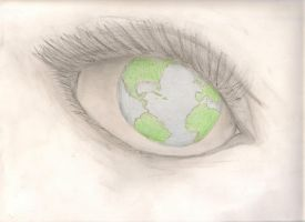 Looking at the World through Different Eyes by Xx-Ann-xX