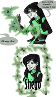 Shego does by AtomicRedBoots