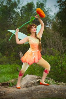 Pixie Hollow Fawn Cosplay by glimmerwood