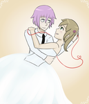 CronaXMaka: Wedded Bliss by zaiduck