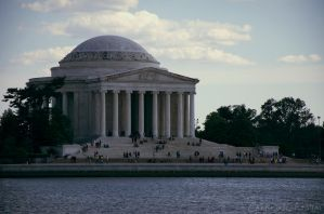 Jefferson Memorial by MordsithCara