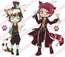 Adoptables Nekomimi Steampunk :CLOSED: by bibi-chan