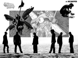 Linkin Park Albums Wallpaper by Jacoripper