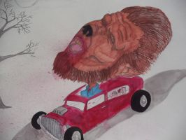 Wolfman by meb1982