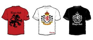 King's Hall T-Shirts Design by misfitmalice