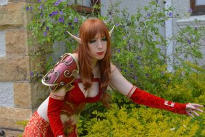 Blood Elf Mage Cosplay by jankeroodman