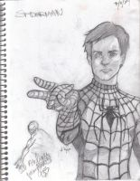 Spidey Man by alexa