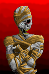 Mummy Colored by JeffreyTrudeau