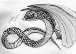 Shek, winged snake by Go-GoBarril
