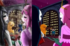 adventure time anime version by NENEBUBBLEELOVER