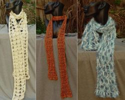 Another three Scarves by StephaniePride